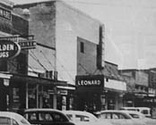 1955 photo from the Leonard Historical Museum collection
